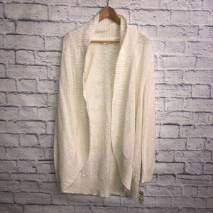 NWT! Style & Co Winter White Cardigan